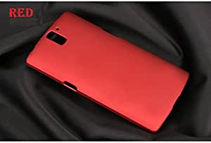 Red Moskii Premium Matte Back Shell PC Hard Case Cover For OnePlus One ~ USA