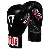 Title Classic Black Max Boxing Gloves, Black, 16 oz