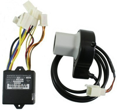 Razor E100 Twist Throttle & Controller Electrical Kit - E100 / E125 (V10+), E150 (V1+), eSpark - OEM Part #W13111612164