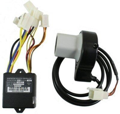 (Razor E100 Twist Throttle & Controller Electrical Kit - E100 / E125 (V10+), E150 (V1+), eSpark - OEM Part #W13111612164)