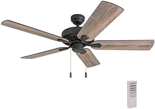Prominence Home 50746-01 Eagle Creek Farmhouse Ceiling Fan 3 Speed Remote