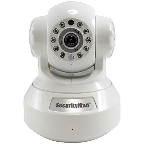 SecurityMan IPcam-SD IP Security Camera DIY Wireless/Wired W/ 50 Night Vision Home & Garden Improvement