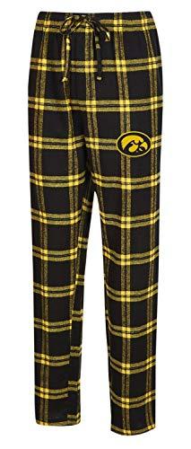 (Concepts Sport University of Iowa Hawkeyes Men's Pajama Pants Plaid Pajama Bottoms (X-Large))