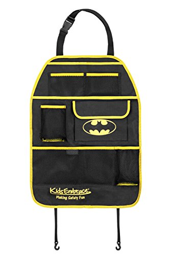 KidsEmbrace Batman Back Seat Car Organizer The KidsEmbrace Batman Back Seat Car Organizer is the perfect edition to your Batmobile! Easy to install and adjust for the perfect fit, the backset car organizer also doubles as a seat protector! T...
