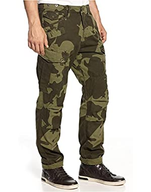 G Star RAW Rovic Camouflage Tapered Cargo Pants, Sage, Size W34/L36
