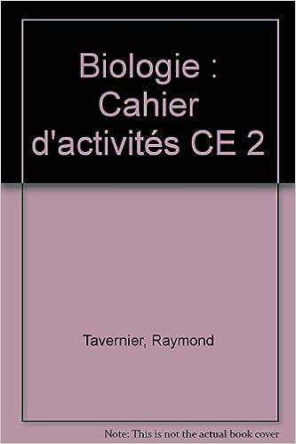 En ligne Biologie : Cahier d'activités CE 2 epub, pdf