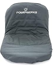 Waterproof Deluxe Riding Lawn Mower Seat Cover, Medium, Black