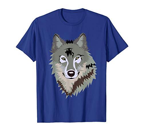 - Cool Wild Gray Timber Wolf Endangered Animal Pajama Shirt