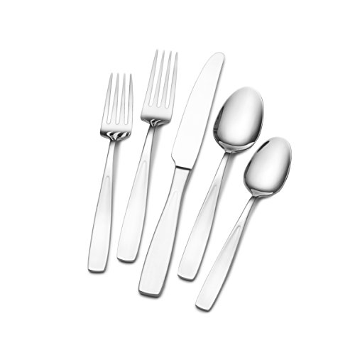 Towle 5234985 Dario Flatware Set, One Size, Stainless Steel