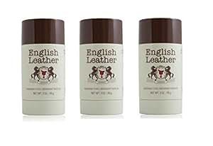 Amazon Com English Leather Deodorant Stick 3 Oz 85g