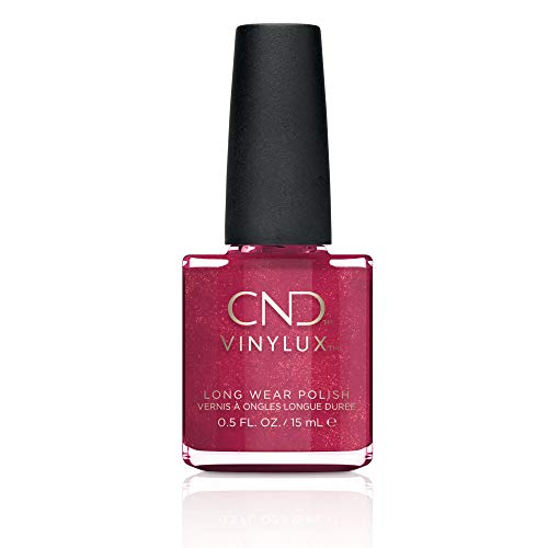 CND Vinylux Weekly Nail Polish, Red Baroness, .5 oz