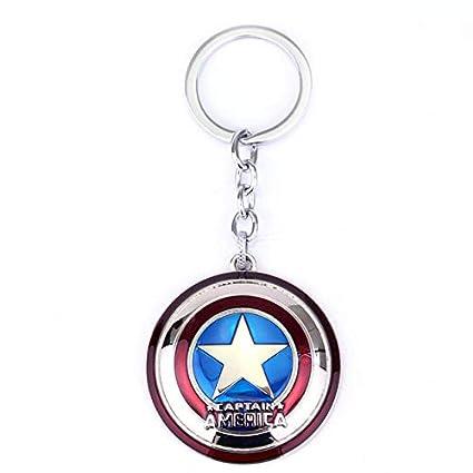 DADATU Llavero Los Vengadores Marvel Capitán América Llavero ...