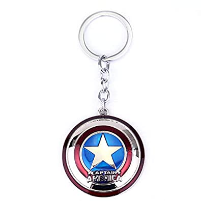 Amazon.com: The Avengers Marvel Captain America Keychain ...
