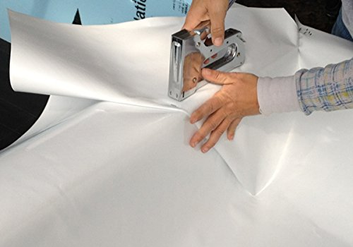 Dura Skrim R20WW Liner 12' x 40' Polyethylene Film - White 20 mil
