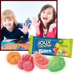Jolly Rancher Screaming Sours Soft & Chewy Candy, 2-Ounce Packages