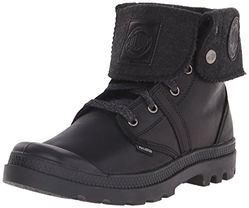 2 Black Plus Combat Palladium Boot BGY Pallabrouse Men's Iq4wC6
