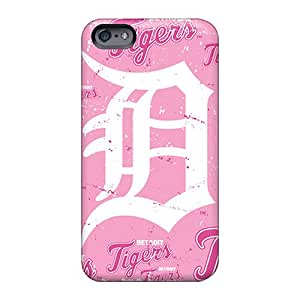 Anti-Scratch Hard Phone Case For Apple Iphone 6 Plus (xlj830gvQZ) Support Personal Customs High-definition Detroit Tigers Series