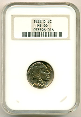 1938 D Buffalo Nickel MS66 NGC