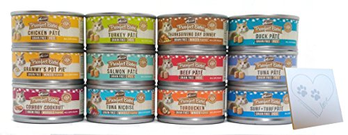 Merrick Purrfect Bistro Grain Free Canned Cat Food Variety B