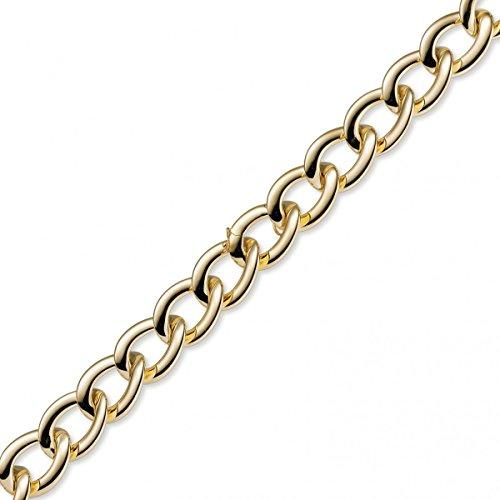 22 Mm bracelet fantaisie les bracelets couleur or 750 21 cm