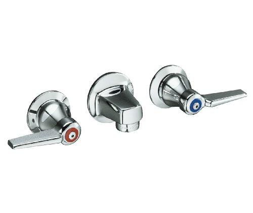 KOHLER K-8046-5A-CP Triton Shelf-Back Lavatory Faucet, Polished Chrome