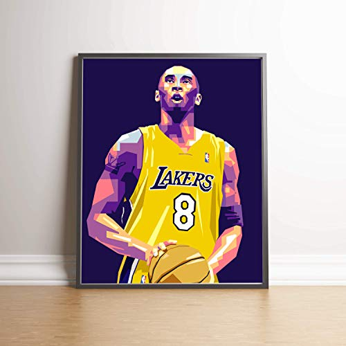 Kobe Bryant Limited Edition Poster Wall Art Wall Merchandise (Additional Sizes) (16x20) (Edition Photographic Limited Print)