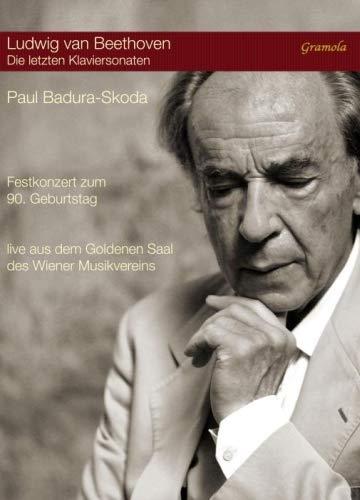 Beethoven: Last Piano Sonatas [Paul Badura-Skoda] [Gramola: 20002] [DVD]