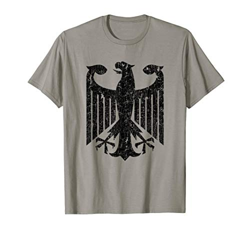 - Germany Coat Of Arms T shirt German Roots Pride Flag Tee
