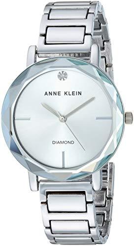Anne Klein Dress Watch (Model: AK/3279SVSV)