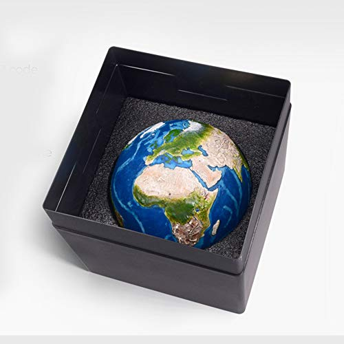 AstroReality Earth Interactive Globe, Award Winning Space Education Toys Teaching Aids for Earth Science, 120mm Diameter 3D-Printed and Handcrafted Model of Earth, Paired with Augmented Reality App. by AstroReality (Image #1)