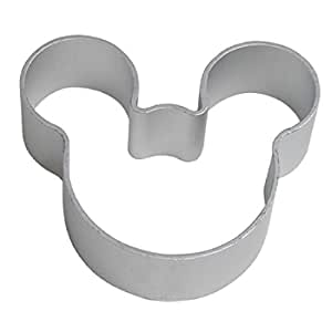 Mickey Mouse Cookie Cutter, Aluminum