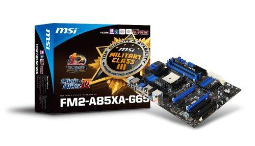 MSI AMD A85X ATX DDR3 2133 370 Motherboards ()
