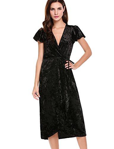 Buy asymmetrical belted dress - 7