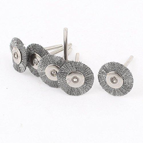 3 mm Shank 1 pouces brosse mtallique polissage lustrage roue outil rotatif 6 Pcs