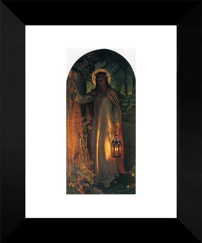 The Light of the World 15x18 Framed Art Print by Hunt, William (Hunt Framed)