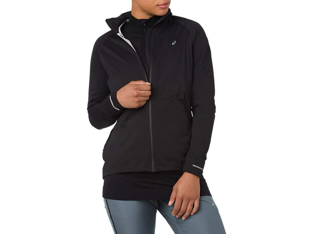 ASICS 2012A018 Women's System Jacket, Performance Black, Small