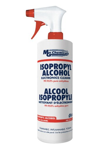 MG Chemicals 99.9% Pure Isopropyl Alcohol, 475ml (16 fl. Oz) Fill in a Trigger Spray Bottle (Isopropyl Alcohol Spray compare prices)