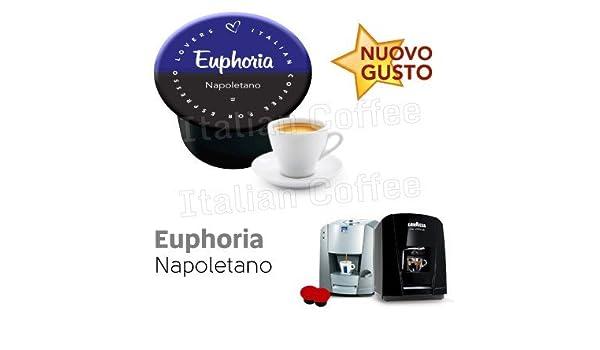 Italian Coffee - Euphoria Napoletano - Lote de 100 cápsulas de ...