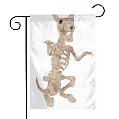 MINIOZE Halloween Rat Skeleton Bones Themed Welcome Mailbox Small Jumbo for Outdoor Decorations Ornament Picks Garden House Home Yard Traditional Decorative Front -