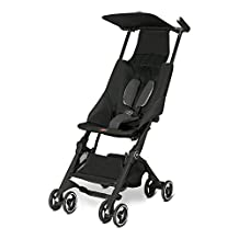 GB Pockit Stroller Monument Black 2016 by The Good Baby