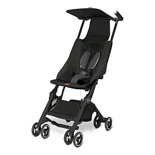 GB Pockit Stroller Monument Black 2016