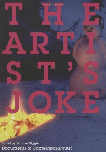 The Artist's Joke (Whitechapel: Documents of Contemporary Art)