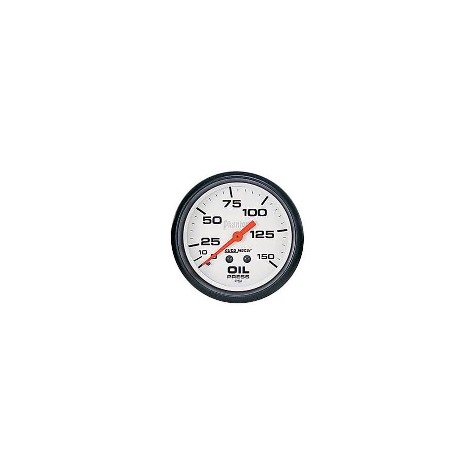Auto Meter 5823 Phantom Mechanical Oil Pressure Gauge