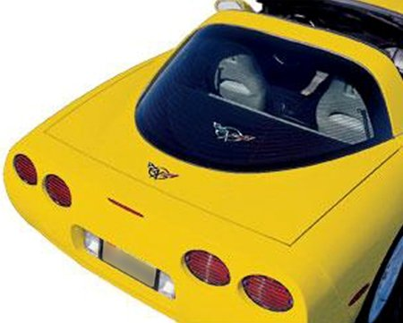 Corvette Coupe Rear Cargo Shade : C5