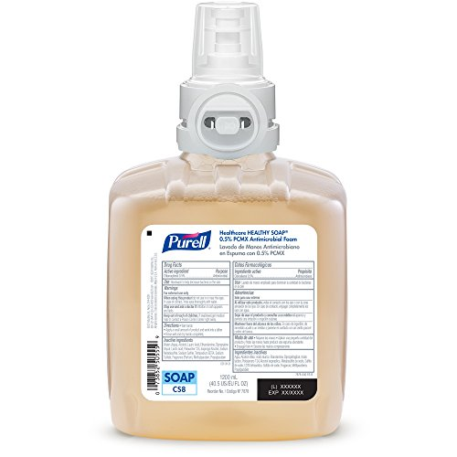 1200 mL Soap Refill 1 6477-1G GOJO Each Ordering 1 PURELL Professional HEALTHY SOAP Fresh Scent Foam ES6 Starter Kit ES6 Graphite Push Style Dispenser