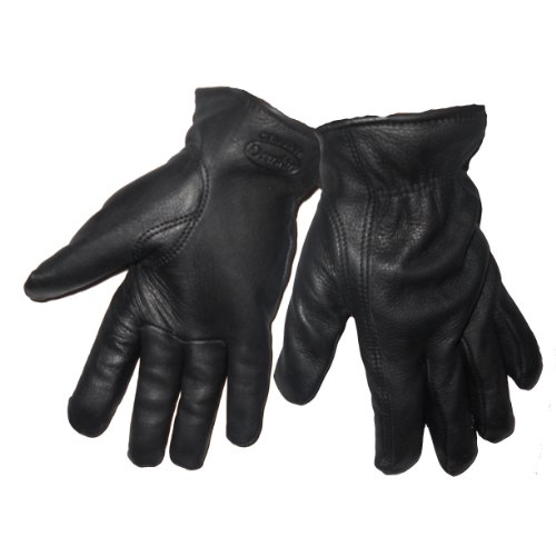 - Global Glove 3200DTHB Thinsulate Insulate Deerskin Premium Driver Grade Glove with Slip-on Cuff and Keystone Thumb, Work, Medium, Black (Case of 72)