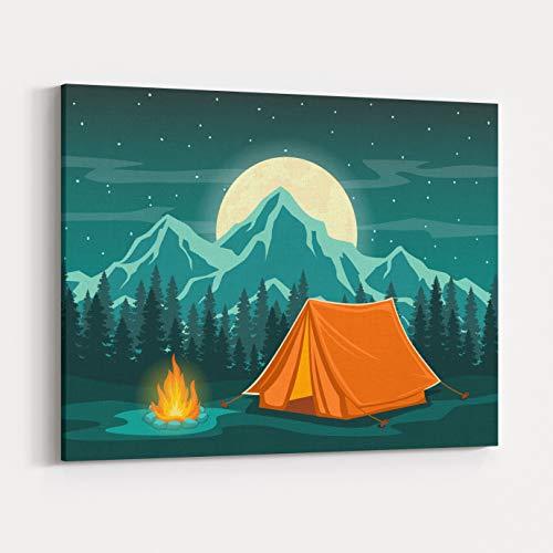 Rosenberry Rooms Canvas Wall Art Prints - Family Adventure C