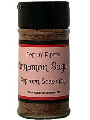 PREMIUM | Popcorn Seasoning | Variety 7 Pack | Sea Salt & Vinegar | Butter | Smoked Parmesan | Cinnamon Sugar | Cilantro Lemon | Tex Mex | White Cheddar | 3.5 fl. oz. by June Moon Spice Company (Image #5)