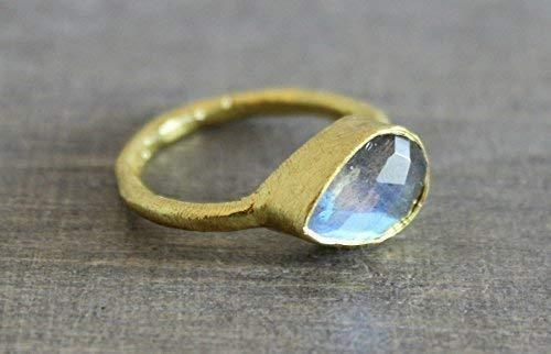 Golden Labradorite Fin Shape set in Silver