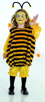 a8d3bbc56d3 Biene Maja Kinder Karneval Kostüm Faschingskostüm 104  Amazon.de  Spielzeug